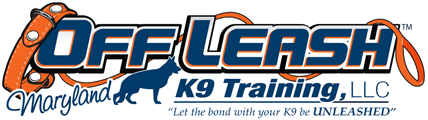 Off Leash K9 Training Maryland Logo